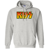 Kiss Hoodie - Ash - Shipping Worldwide - NINONINE