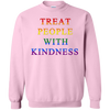 Treat People With Kindness Sweater Pride - Light Pink - Shipping Worldwide - NINONINE
