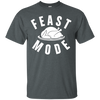 Feast Mode Shirt - Dark Heather - Shipping Worldwide - NINONINE