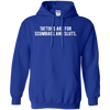 Tattoos Are For Scumbags Hoodie - Royal - Shipping Worldwide - NINONINE