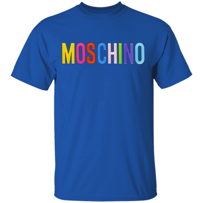 Moschino Colorful Shirt - Royal - Worldwide Shipping - NINONINE