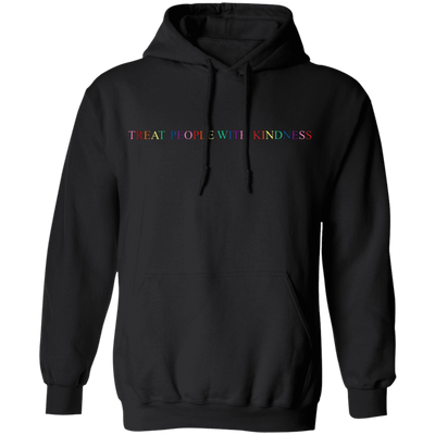 Harry Style Treat People With Kindness Hoodie - Black - Shipping Worldwide - NINONINE