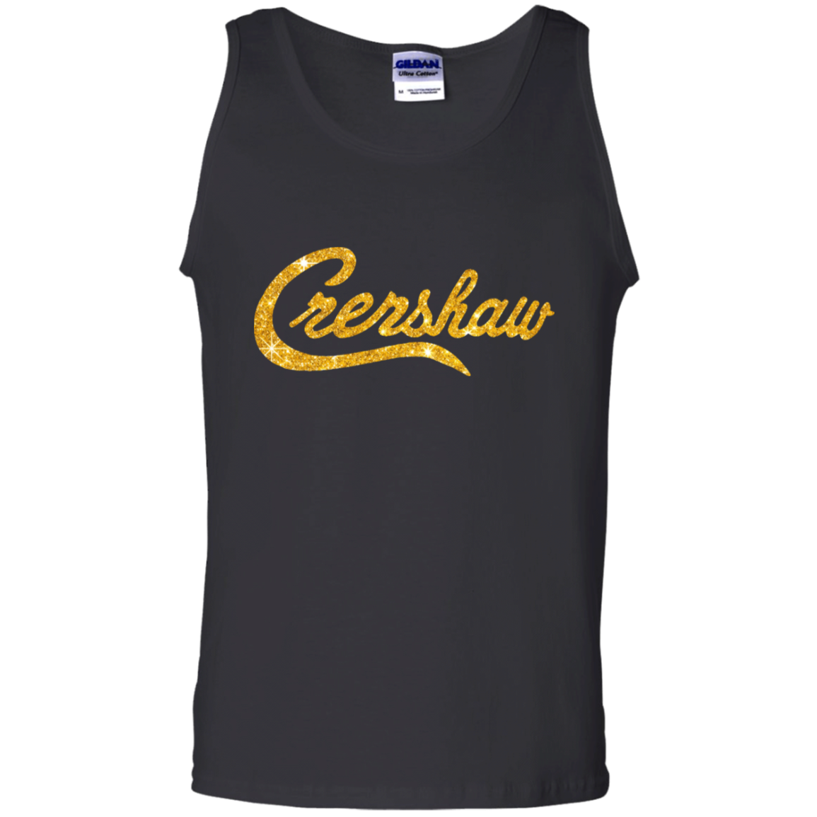 Crenshaw Gold Tank Top