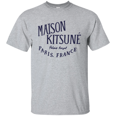 Maison Kitsune Shirt Light - Sport Grey - Shipping Worldwide - NINONINE