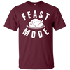 Feast Mode Shirt - Maroon - Shipping Worldwide - NINONINE