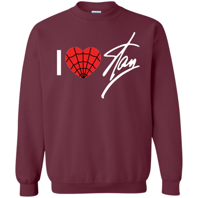 I Love Stan Lee Sweater - Maroon - Shipping Worldwide - NINONINE