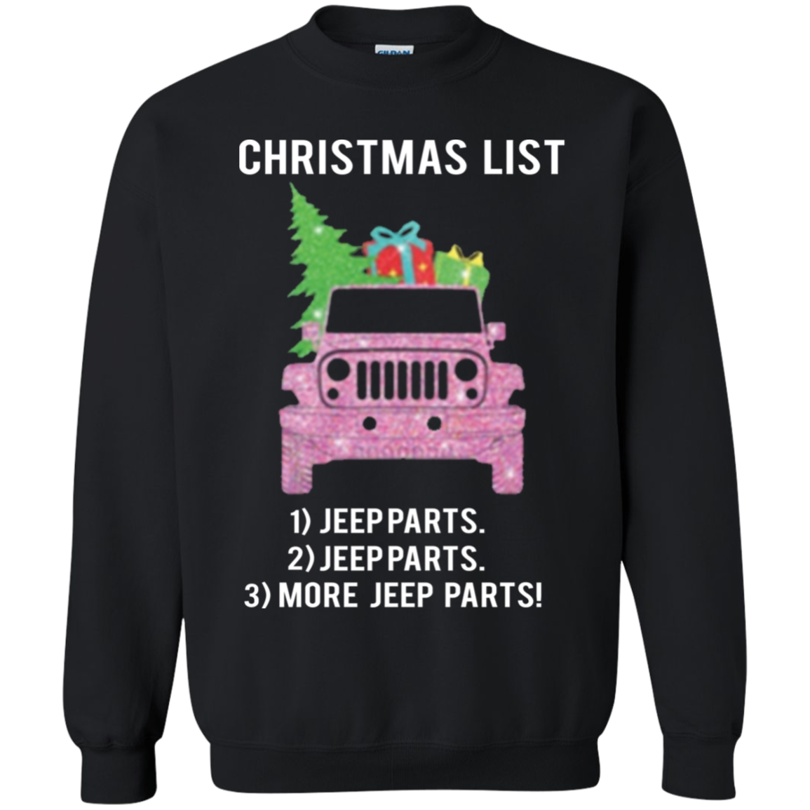 Christmas List Jeep Parts Jeep Parts More Jeep Parts Sweater