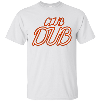 Club Dub Shirt - White - Shipping Worldwide - NINONINE