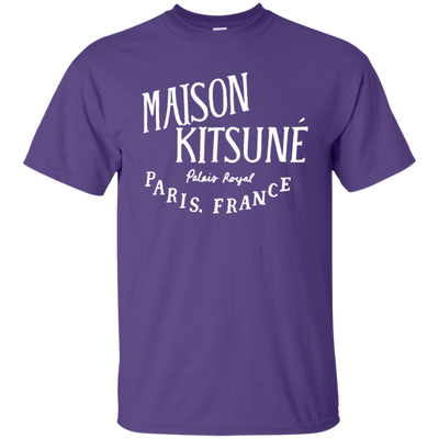 Maison Kitsune Shirt Dark - Purple - Shipping Worldwide - NINONINE