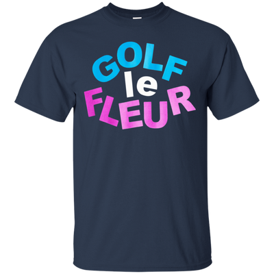 Golf Le Fleur Shirt - Navy - Shipping Worldwide - NINONINE