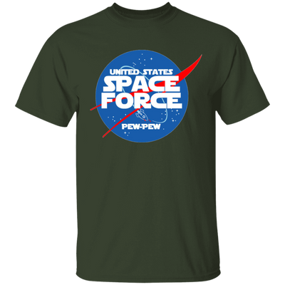 Space Force T Shirt - Forest - Worldwide Shipping - NINONINE
