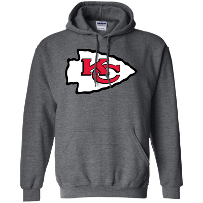 Chiefs Hoodie - Dark Heather - Shipping Worldwide - NINONINE