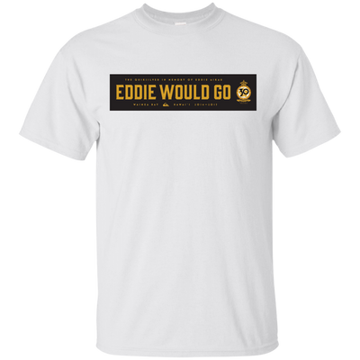 Eddie Aikau Shirt - White - Shipping Worldwide - NINONINE