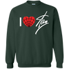 I Love Stan Lee Sweater - Forest Green - Shipping Worldwide - NINONINE