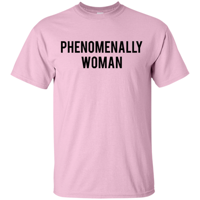 Phenomenally Woman Shirt - Light Pink - Shipping Worldwide - NINONINE