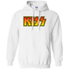 Kiss Hoodie - White - Shipping Worldwide - NINONINE