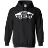 Vans Off The Wall Hoodie Dark - Black - Shipping Worldwide - NINONINE