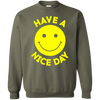 Have A Day Sweater - Military Green - Shipping Worldwide - NINONINE