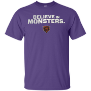 Believe In Monsters Chicago Bears Shirt