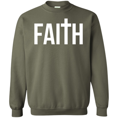 Faith Sweater - Military Green - Shipping Worldwide - NINONINE