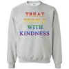 Treat People With Kindness Sweater Pride - Sport Grey - Shipping Worldwide - NINONINE