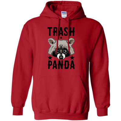 Trash Panda Hoodie - Red - Shipping Worldwide - NINONINE