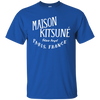 Maison Kitsune Shirt Dark - Royal - Shipping Worldwide - NINONINE