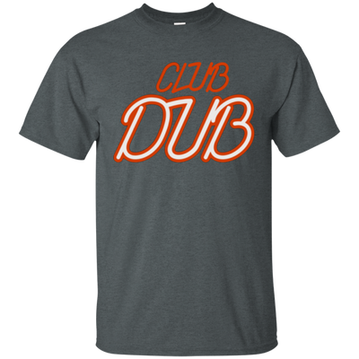 Club Dub Shirt - Dark Heather - Shipping Worldwide - NINONINE