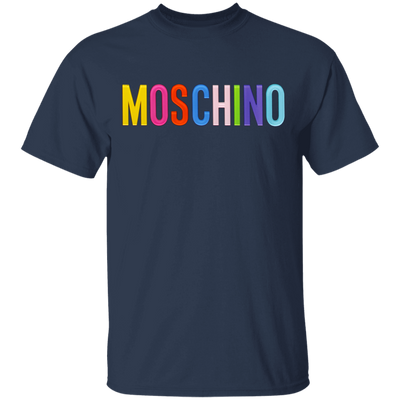 Moschino Colorful Shirt - Navy - Worldwide Shipping - NINONINE
