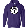 Thing 1 Hoodie - Purple - Shipping Worldwide - NINONINE