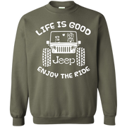 Life Is Good Enjoy The Ride Sweater