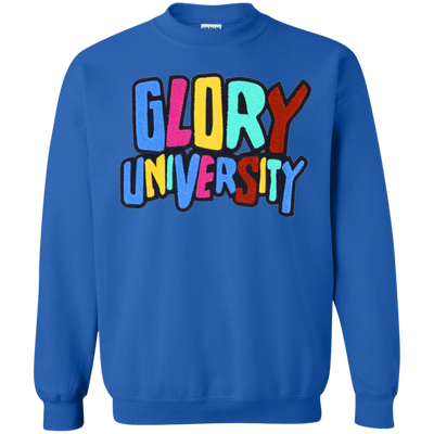 Glory University Sweater - Royal - Shipping Worldwide - NINONINE