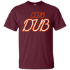 Club Dub Shirt - Maroon - Shipping Worldwide - NINONINE