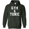 Gym And Tonic Hoodie - Forest Green - Shipping Worldwide - NINONINE