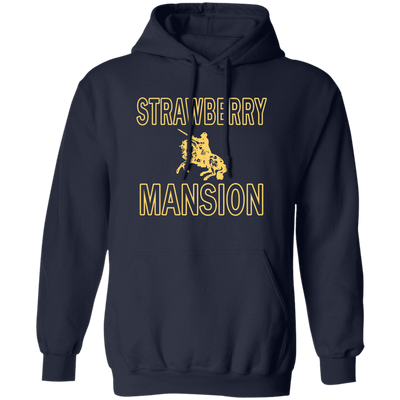 Strawberry Mansion Hoodie - Navy - Worldwide Shipping - NINONINE