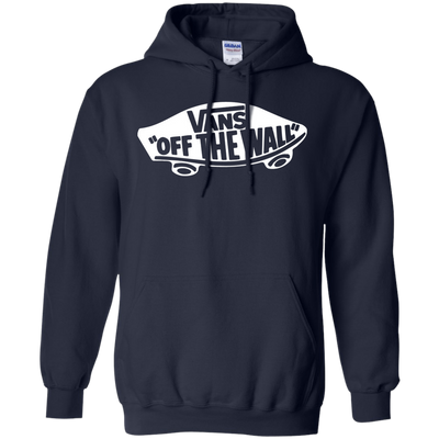 Vans Off The Wall Hoodie Dark - Navy - Shipping Worldwide - NINONINE