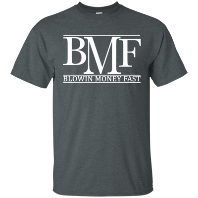 Bmf Shirt - Dark Heather - Shipping Worldwide - NINONINE