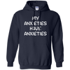 My Anxieties Have Anxieties Hoodie - Navy - Shipping Worldwide - NINONINE