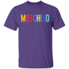 Moschino Colorful Shirt - Purple - Worldwide Shipping - NINONINE