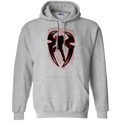 Roman Reigns Hoodie Dark - Sport Grey - Shipping Worldwide - NINONINE