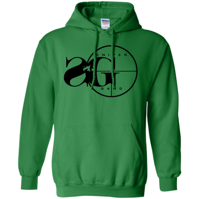Sniper Gang Hoodie Light - Irish Green - Shipping Worldwide - NINONINE