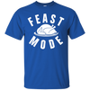 Feast Mode Shirt - Royal - Shipping Worldwide - NINONINE