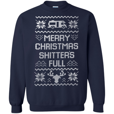 Shitters Full Sweater - Navy - Shipping Worldwide - NINONINE