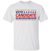 Can You Wear A Candidate Shirt To Vote - White - Shipping Worldwide - NINONINE