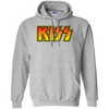 Kiss Hoodie - Sport Grey - Shipping Worldwide - NINONINE