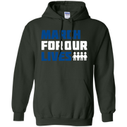 March For Our Lives Hoodie Dark Style