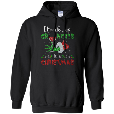 Drink Up Grinches Hoodie - Black - Shipping Worldwide - NINONINE