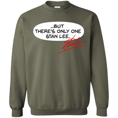 But There's Only One Stan Lee Sweater - Military Green - Shipping Worldwide - NINONINE