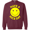 Have A Day Sweater - Maroon - Shipping Worldwide - NINONINE