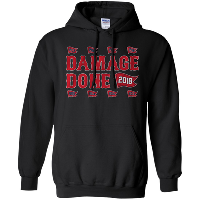 Damage Done Hoodie Red Sox Champion 2018 - Black - Shipping Worldwide - NINONINE